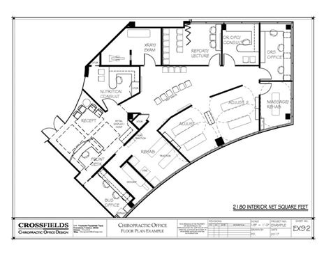 exle of chiropractic office floor plan multi doctor 95 best images about chiropractic floor plans on pinterest