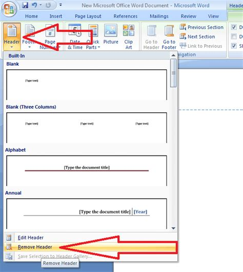 design a header in word how to insert or remove header and footer in ms word