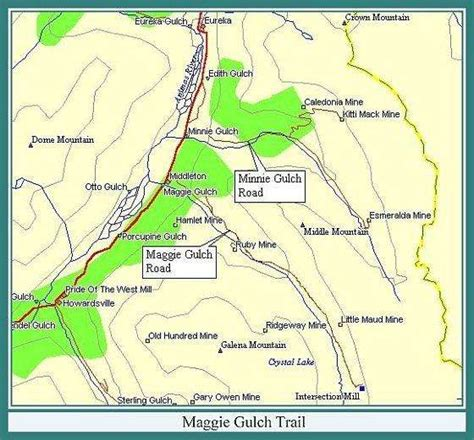 silverton oregon map rv boondocking near silverton co maggie gulch