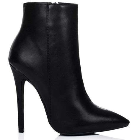 spylovebuy black ankle boots shoes at spylovebuy