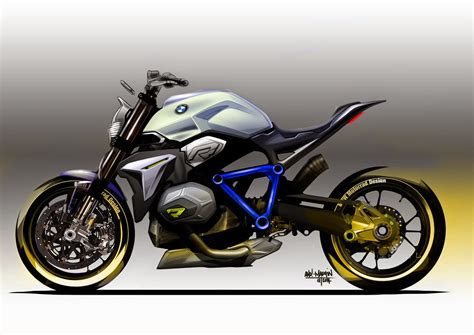 Bmw Concept Motorcycle by Bmw Concept Roadster Motorcycle Sketches Photos