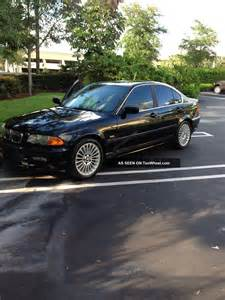 2001 bmw 330i base sedan 4 door 3 0l