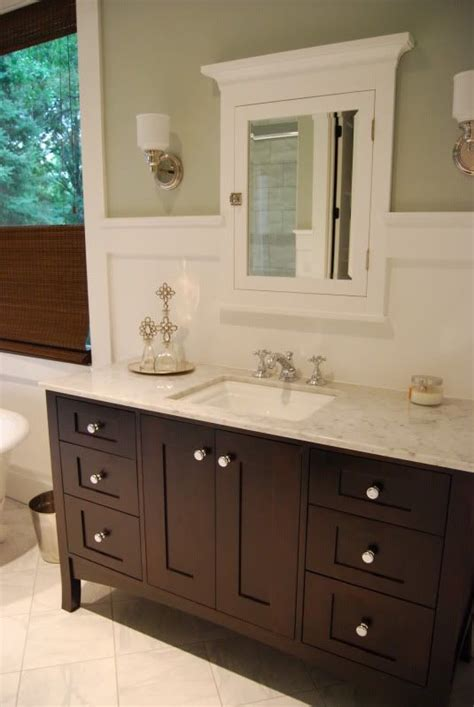 Furniture Style Bathroom Vanities Wall Color Bm Gray Wisp Trim Bm Simply White Tub 68 Quot Specialty With Hardware Vanity