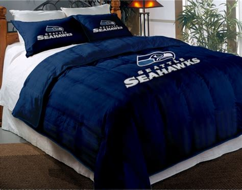 seahawks comforter set seattle seahawks nfl twin chenille embroidered comforter
