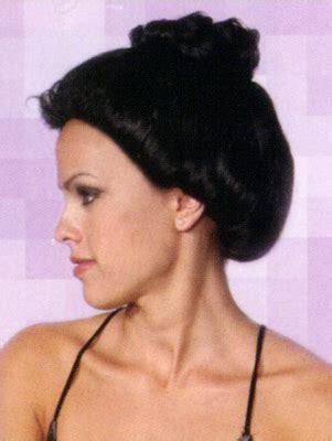 updo eigs for bald women updo costume wig