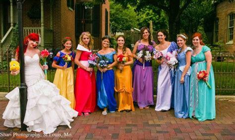 disney princess themed wedding geektyrant