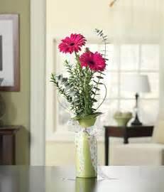 pink gerbera bud vase flowersonsunday