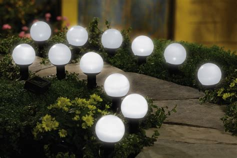 Solar Globe Lights Outdoor Solar Mini Garden Outdoor Lighting Globes