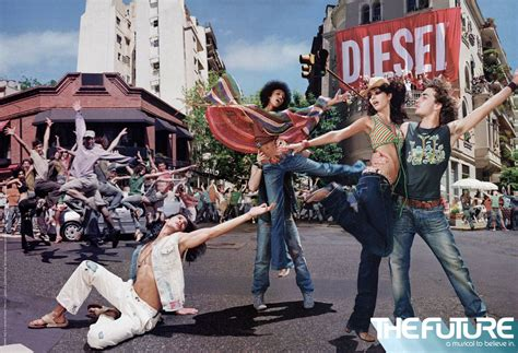 Diesels New Ad Caign Targets Global Warming by Image Gallery Diesel Advertising