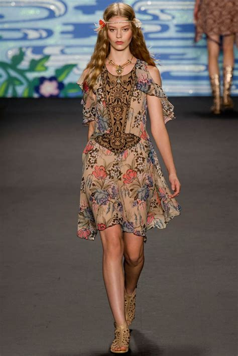 2014 fashion at 35 fashion week anna sui s bohemian collection wild daizies
