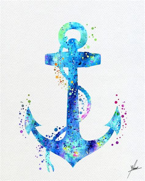 The 25 Best Anchor Print - watercolor anchor tattoos www pixshark com images