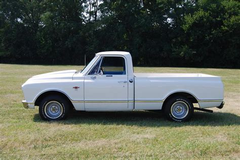 short bed truck cer 1967 chevrolet c 10 custom short bed pickup 157796