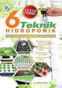 Buku Simpel Hidroponik buku 6 teknik hidroponik penebar swadaya