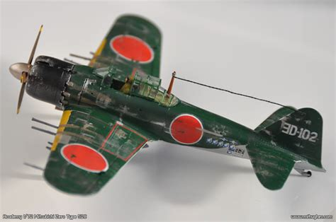 Home Planes by Academy Mitsubishi Zero 1 72 Scale Photographs