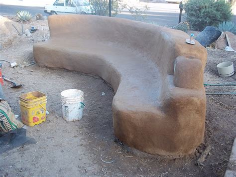 cob bench barts window blog sharing some ways to create earthen sculpture