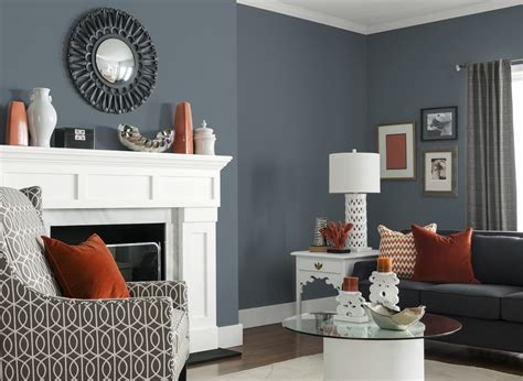 gray colors for living rooms living room in glidden s french grey 70bg 19 071 color