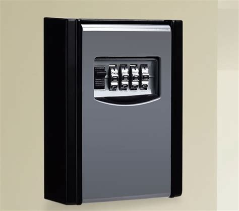 Front Door Key Safe New Key Card In Out Door High Security Wall Box Safe 4 Digit Lock Storage Ebay