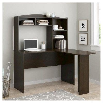 ameriwood russet cherry l shaped desk 25 best ideas about corner desk on corner