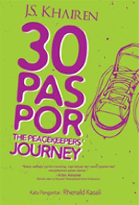 Buku The Journeys bukukita 30 paspor the peacekeepers journey