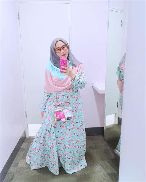 Gamis Remaja Masa Kini 2018 18 model baju muslim remaja 2018 terbaru stylish casual dan modis