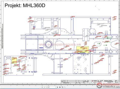 auto repair diagrams free terex fuchs mhl360d wiring diagram free auto repair manuals