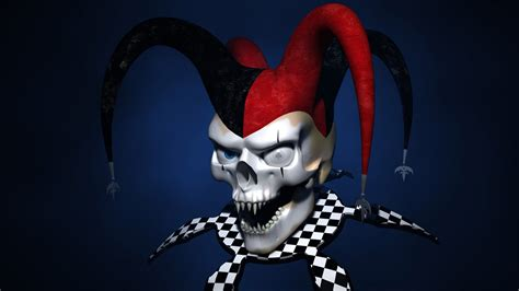 dark jester wallpaper evil jester wallpaper