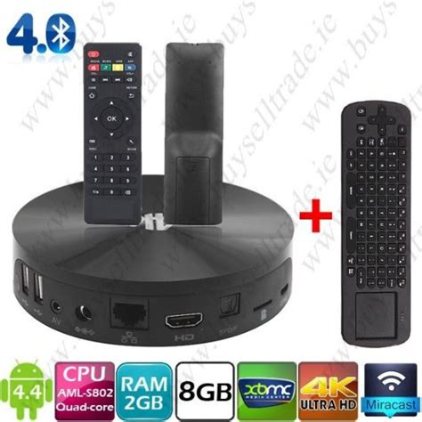 Android Box Dublin by Mbox S802 Android Tv Box Airmouse Combo For Sale In Dublin