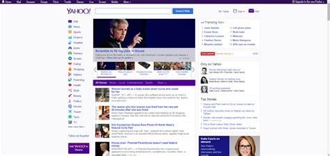yahoo new layout 2015 the importance of simplicity in design digital reach agency