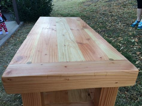 tv stand douglas fir  natural stain  gadget
