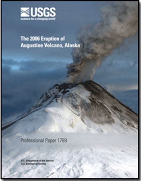 Augustine Fall 2006 by The 2006 Eruption Of Augustine Volcano Alaska