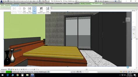 revit walkthrough tutorial video autodesk revit model walkthrough villa plan in revit