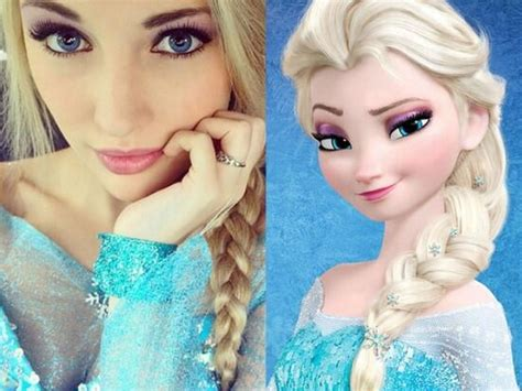 frozen film real life total frat move queen elsa from frozen has a real life