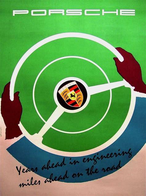 porsche poster vintage 17 rate vintage porsche posters autoos