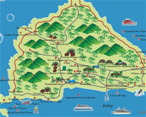 detailed travel city maps  sanya sanya map