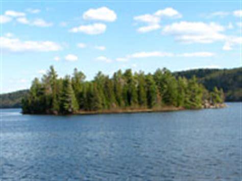 lake   rivers campground algonquin provincial park