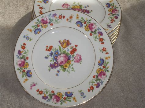 china designs syracuse china old ivory sharon pattern salad plates usa