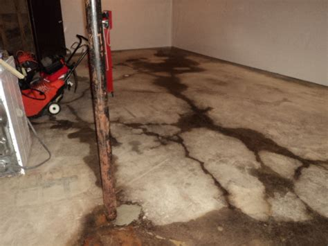 basement floor cracks repair in michigan repairing