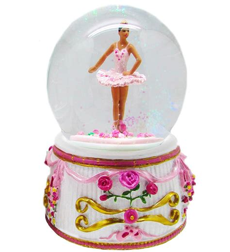 balmwg aa turning ballerina musical snow globe ethnic