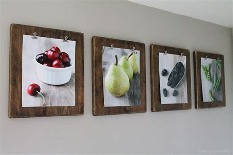 how to frame a print remodelaholic 50 ways to display art prints and photos