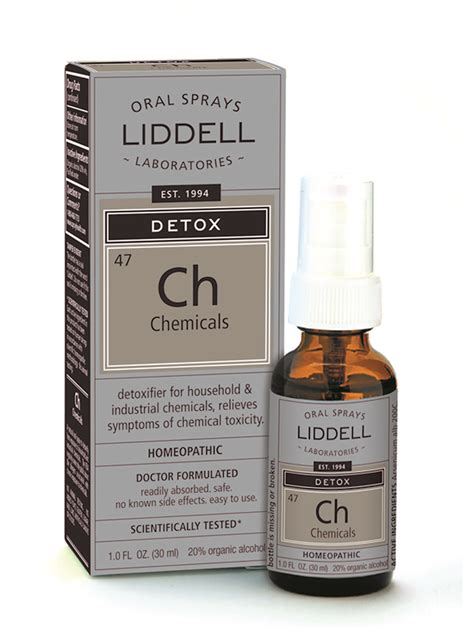 Detox Chemicals Out Of by Detox Chemicals Liddell Laboratories