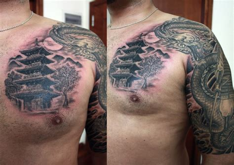 hot ink tattoo the gallery for gt japanese pagoda
