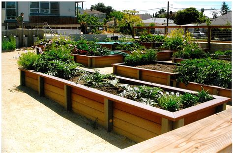 Raised Planter Box Design by Outdoor Landscaping Ideas Free House Design And Interior