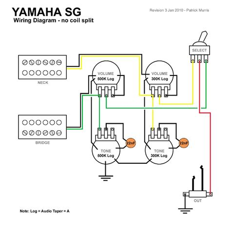 sg special wiring diagram 25 wiring diagram images