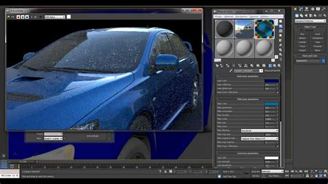 vray sketchup car paint tutorial vray 2 car paint exle 3dsmax 2013 youtube