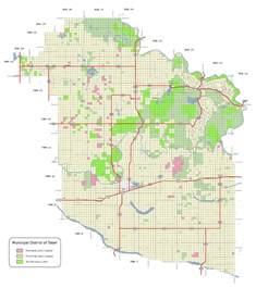 land ownership maps map of alberta canada national parks
