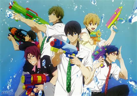 anime online the bishi watch free ova with epic watergun battle