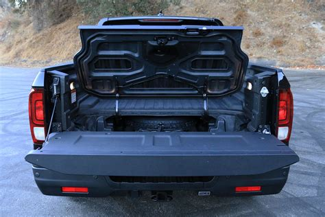 honda truck tailgate 2017 honda ridgeline awd black edition review digital trends