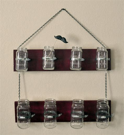 Jar Shelf by Jar Hanging Shelf