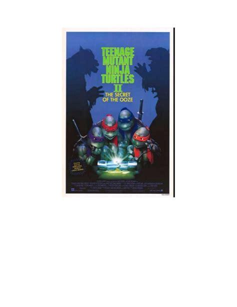 film bioskop action comedy teenage mutant ninja turtles ii the secret of the ooze