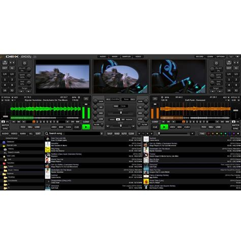 pcdj dex dj software full version free download pcdj dex 3 pro professional dj video karaoke software pc